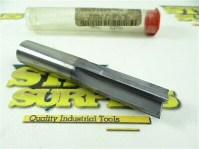 """New! Solid Carbide 4 Straight Flute End Mill 5/8"""" X 5/8"""" X 1-3/8"""" X 3-1/2"""""""