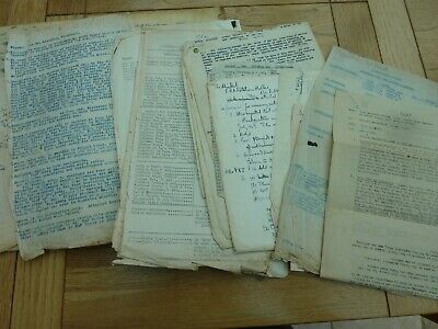 WW2 INTERESTING BOOK RAF DOC REFERENCE No & PAY GRADE ETC HAND WRITTEN