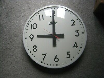 Very large Blick Industrial Wall Clock GWO