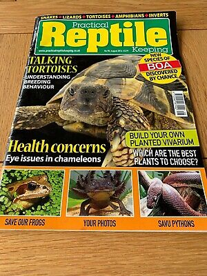 PRACTICAL REPTILE KEEPING - No.90 - August 2016