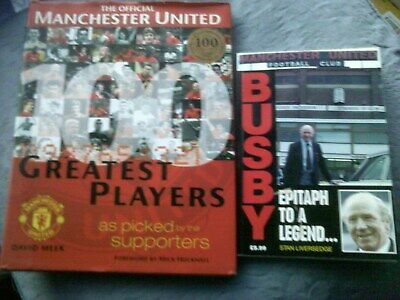 Manchester United Books X 2 Bundle Of 2 Books