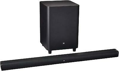 "JBL 3.1 450W Bar - Channel Soundbar System with 10"" Wireless Subwoofer - Black"