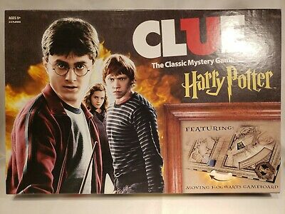 Harry Potter Clue The Classic Mystery Game *Complete