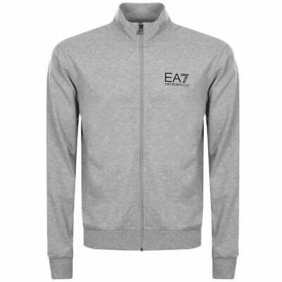 EA7 EMPORIO ARMANIEA7 Emporio Armani Grey Zip Up Cotton