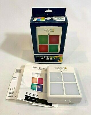 Homedics LT-50 NightLight Colormotion Therapy Night Sensor Color Cube 50