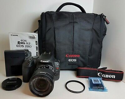 Canon EOS Rebel SL2 DSLR Camera with 18-55mm Lens Very Nice