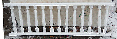 "75"" Long Porch Rail Set w/ 13 Balusters Each 20"" Tall - Remove Per Your Request"