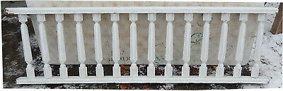 "80"" Long Porch Rail Set w/ 14 Balusters Each 20"" Tall - Remove Per Your Request"