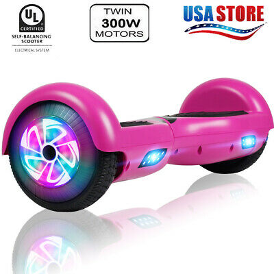 """6.5"""" Hoverboard Self Balancing Scooter UL2272 CE LED Purple Without Bag Gifts"""