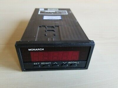 Monarch Digital Tachometer Panel Meter ACT-3 115v