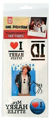 One direction 'Harry Styles' Tatouages Temporaires Tout Neuf