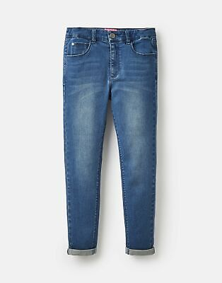 Joules Girls Monroe Denim Jeans 3 12 Years in MID BLUE