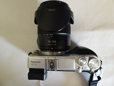 Panasonic Lumix DMC-GX7 16.0 MP with 14-140 lens and case