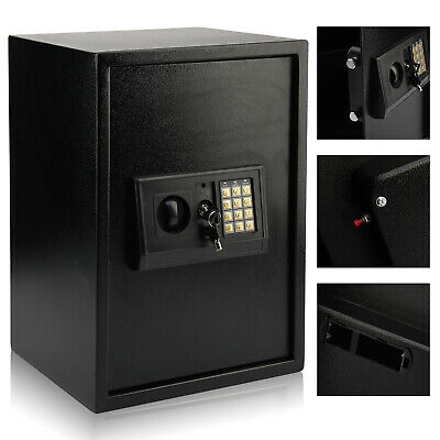 Large High Safe Key/Electronic Digital Safes Office Money Safety Box