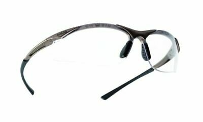 Bolle Safety Glasses, Protective Eye Wear Clear Lens Contpsi