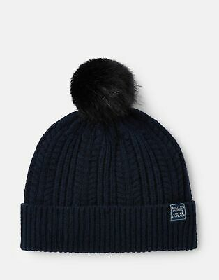 Joules 207389 Cable Hat in FRENCH NAVY in One Size