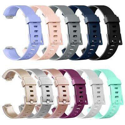 For Fitbit Inspire/HR TPU Strap Replacement Sports Band Colourful Buckle UK