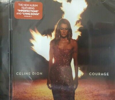 Celine Dion Cd - Courage - Brand New Sealed