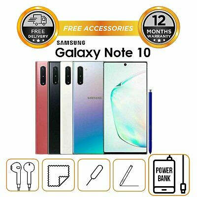 Samsung Note 10 256gb N970 Single Sim Factory Unlocked All Colours