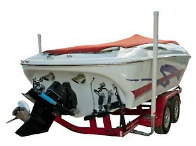 """60"""" Post Boat Guide-On with U-Bolt Mounting Brackets & Unlighted Posts"""