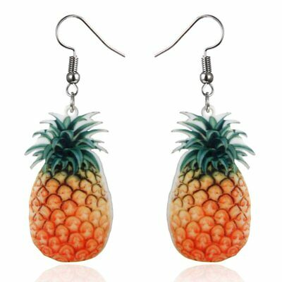 Hot Lady Fashion Cute Fruit Pineapple Drop Dangle Hook Earrings Jewellery Gifts