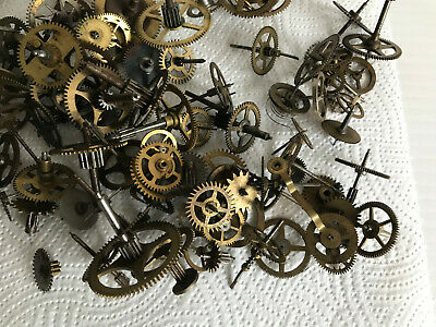 Large selection of vintage clock cogs/gears- Steam Punk