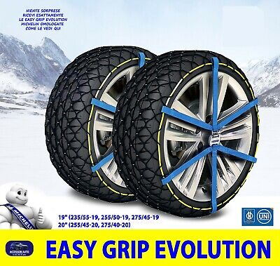 140 per gomme 235//70r16 Land Rover Discovery 3 Catene Neve Power Grip 12mm Gr