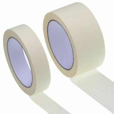 NEW MASKING TAPE INDOOR OUTDOOR DIY PAINTING DECORATING EASY TEAR 24-48MM x 50M
