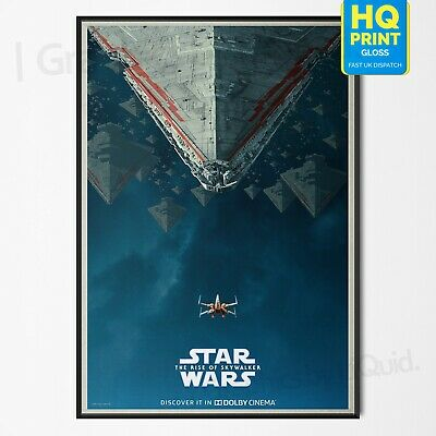 Star Wars The Rise Of Skywalker Movie Episode IX Dolby Art Poster | A4 A3 A2 A1