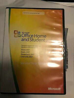 Microsoft Office Home and Student 2007 for 3 PCs