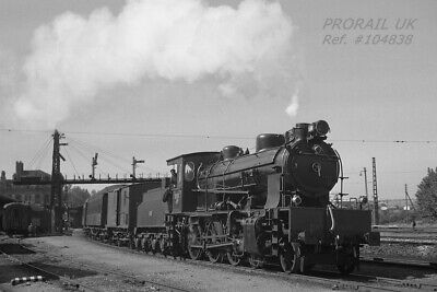 PHOTO Spain RENFE 4-6-0 No. 230.2072 departs from Aranjuez station 1962 - 104838