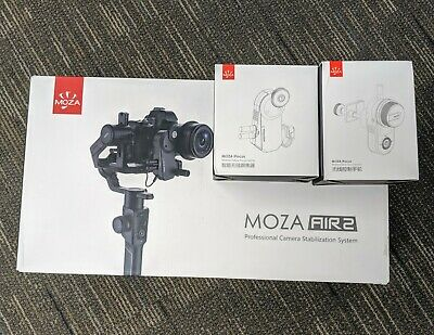 MOZA Air 2: 3 Axis Stabilizer DSLR Handheld Gimbal (4.2KG) incl IFOCUS & Remote