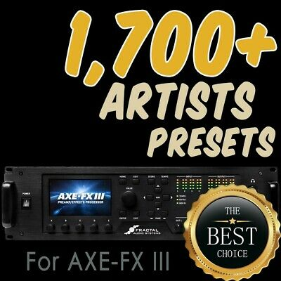 LINE 6 HELIX over 4,500+ presets patches Grandmaster