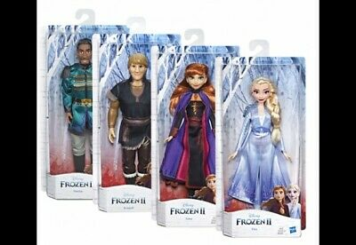 Disney's Frozen 2 Character Doll Anna Elsa Kristoff 11 Inches