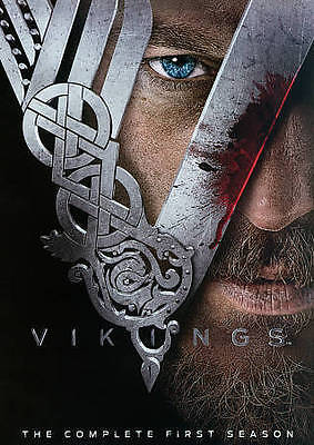 Vikings: The Complete First Season (DVD, 2013, 3-Disc Set)