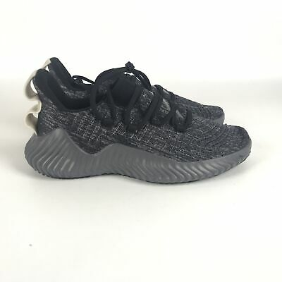adidas Alphabounce Trainer Black Grey Raw White size 9 Running Shoes BB9250