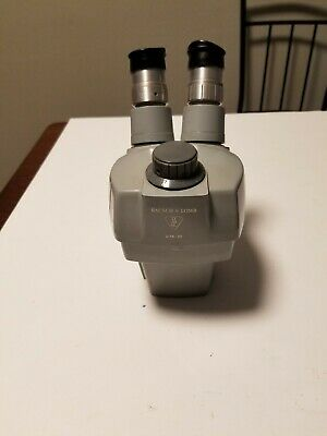 Bausch & Lomb 0.7X-3X Stereozoom Microscope Eyepiece Head Part, Parts or Repair