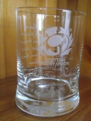 BRAND NEW THE FAMOUS GROUSE SCOTCH WHISKY LTD EDITION HI-BALL TUMBLER GLASS