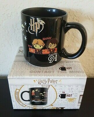 HARRY POTTER Magical Effects Hot BACK TO HOGWARTS Ceramic Mug Cup HEAT REVEAL