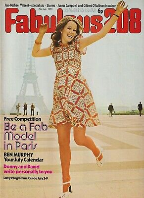 FABULOUS / FAB 208 Magazine - 7 July 1973 Jan-Michael Vincent Ben Murphy