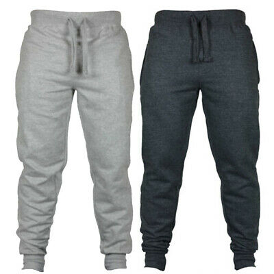 Mens Pants Trouser Workout Slim Fit Jogger Fashion Running Pants Trouser Gym