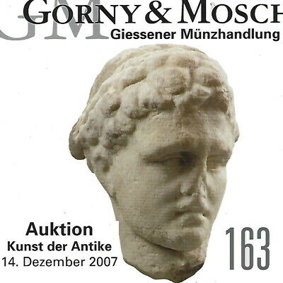 GORNY & MOSCH Antiquities Auction 163 Ancient Greek, Roman Art Catalog Dec 2007