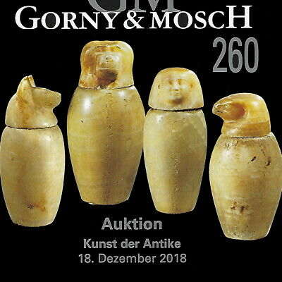 GORNY & MOSCH Antiquities Auction 260 Ancient Greek, Roman Art Catalog Dec 2018