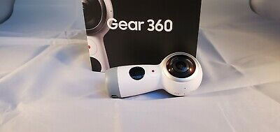 Samsung Gear 360 Real 360 Degree 4K Spherical VR Camera 2017 Version Open Box
