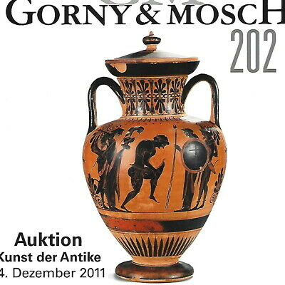 GORNY & MOSCH Antiquities Auction 202 Ancient Greek, Roman Art Catalog Dec 2011