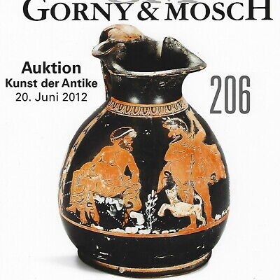 GORNY & MOSCH Antiquities Auction 206 Ancient Greek, Roman Art Catalog June 2012