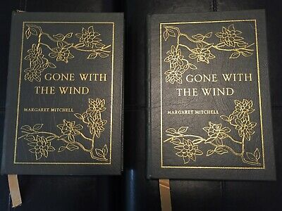 Gone With The Wind Easton Press Vol. 1 and 2. Leather bound.