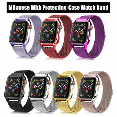 Watch Apple for Stainless Strap 38/40 42/44mm Milanese 4 3 2 1 Steel Band iWatch