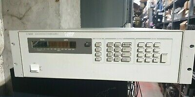 Agilent 6626A System Dc Power Supply (Rbd6.2) Net Price