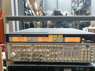 Rohde & Schwarz  UPA 3 372.6014.03 AUDIO ANALYZER W/ OPT 373.0010.02 373.1616.02